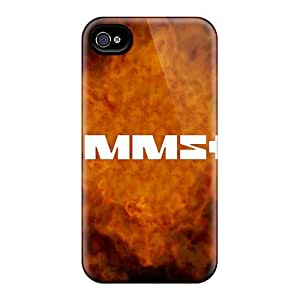 AlainTanielian Iphone 4/4s Excellent Cell-phone Hard Covers Custom Nice Rammstein Series [Uhw4699KwQE]