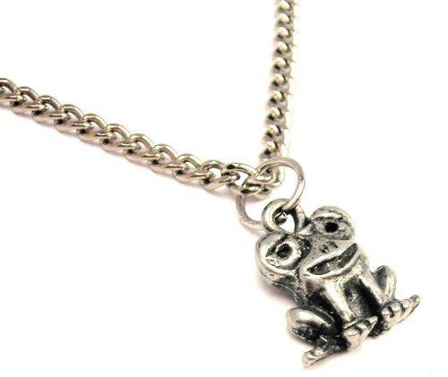 ChubbyChicoCharms Frog With Big Eyes Single Charm 18 Necklace