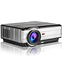 EUG LED LCD Video Multimedia WXGA Home Cinema Projector 3500 Lumen HD 1080p Support 16:9 Widescreen 150inch,Dual HDMI/Dual USB/Headphone/VGA/TV for DVD Player Game Apple-TV Outdoor Movie Night Karaoke