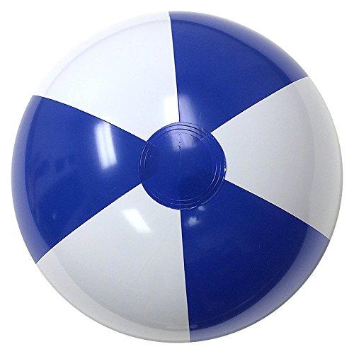 Beachballs - 16'' Blue & White Beach Ball