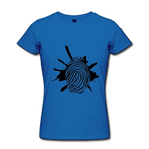 WSB Women's Tee Blood Fingerprint RoyalBlue -
