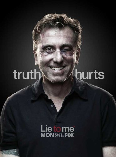 Lie to Me Poster TV 2008 Style B Tim Roth Kelli Williams Brendan Hines