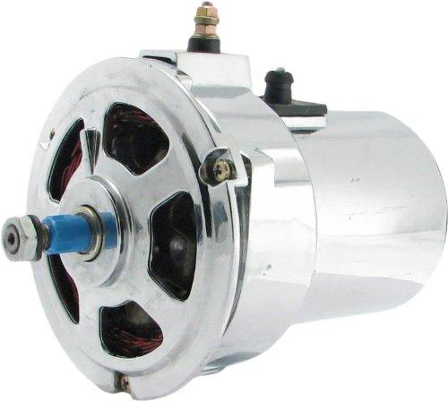 New Chrome Alternator for VW 1.6L Bug Dune Buggy Sand Rail 55 Amp! Replaces: 0-120-489-565 0-120-489-566 0-120-489-583 0-120-489-584 043-903-023A 043-903-023AX AL82N 043-903-023C 043-903-023CX