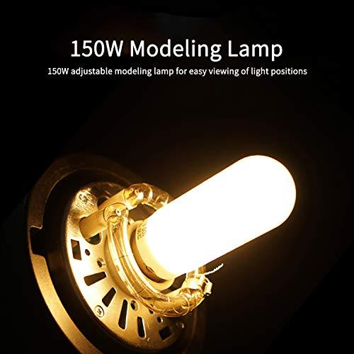 Godox SK400II Studio Strobe 400W, 2.4G Wireless X System GN65 5600K Monolight with Bowens Mount 150W Modeling Lamp, Outstanding Output Stability, Anti-Preflash by Godox (Image #4)