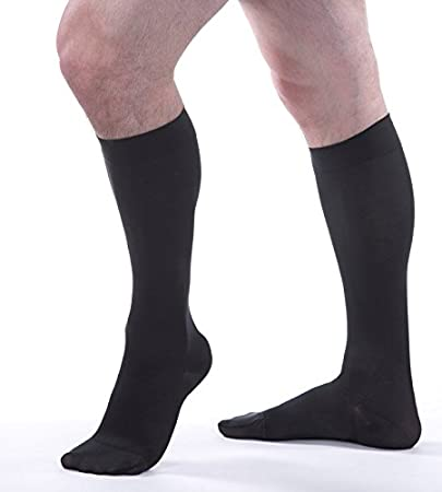 257e1307f0 Image Unavailable. Image not available for. Color: Allegro 20-30 mmHg Soft  252 Microfiber Knee High Compression Stockings