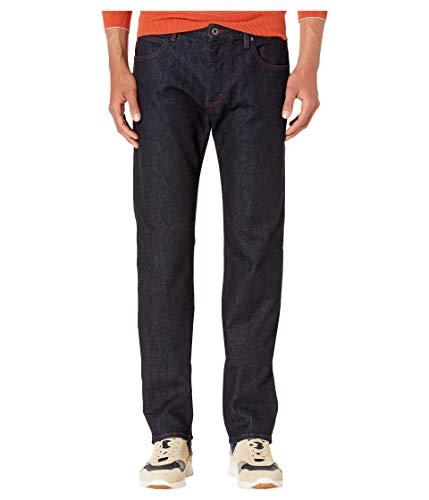 Emporio Armani Men's Pants, Dark Denim Red Stiching 32