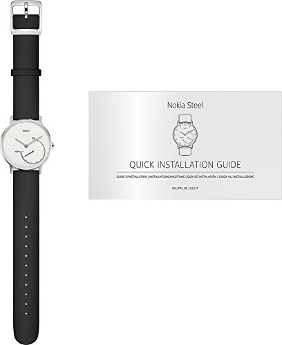 Nokia Steel – Activity & Sleep Watch, white by Nokia health (Image #4)