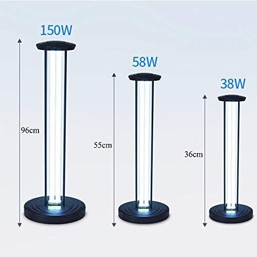 Household appliances Lampada per sterilizzazione/disinfezione UV a 360 °, Lampada germicida/Antibatterica UV Rimovibile per Uso Domestico, Luce Viola per Asilo, Ufficio, Ospedale