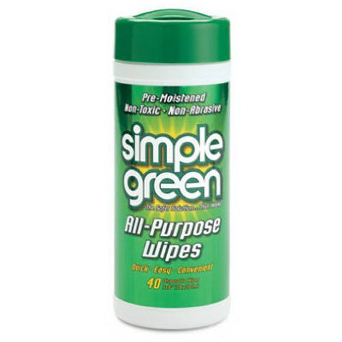 Simple Green 13312 All Purpose Wipes Abrasive Wipes