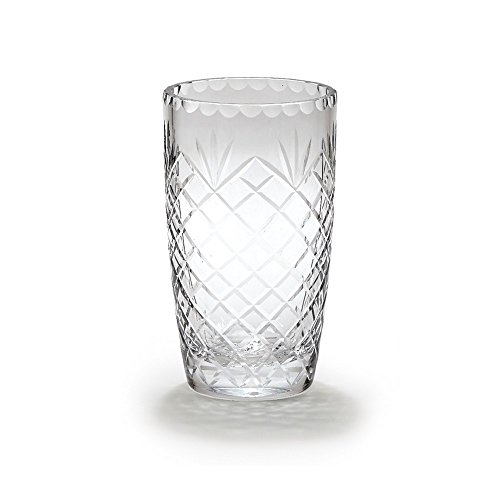 (FB Jewels Solid Optic Crystal 8.5Inch Medallion Ii Vase)
