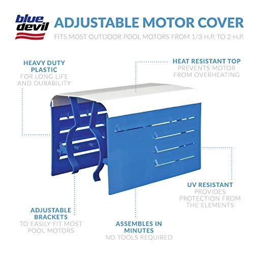 Blue Devil Adjustable Motor Cover
