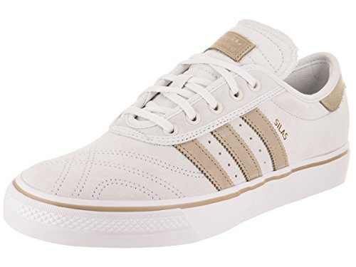 adidas Adi-Ease Premiere (Crystal White/Hemp/White) Men's Skate Shoes-11.5