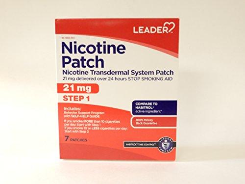 Leader Nicotine Transdermal Patch 7Mg 24Hr 14 Ct Per Box