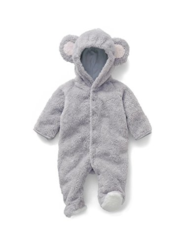 [Blackdeer Kids Onesies Playful Costume Cosplay Homewear Baby Bear Grey S] (Animal Outfits For Toddlers)