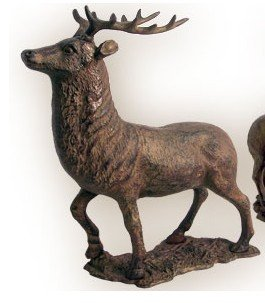 (HUGE Elk Deer Bank - Cast)