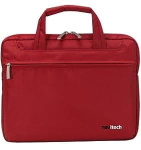 NAVITECH - Funda-Maletín Color Rojo Windows 8 Portátiles / Notebooks / Ultrabooks Para El SAMSUNGSeries 5 NP530U3C, SAMSUNGSeries 9 NP900X3D 13.3 Pulgadas