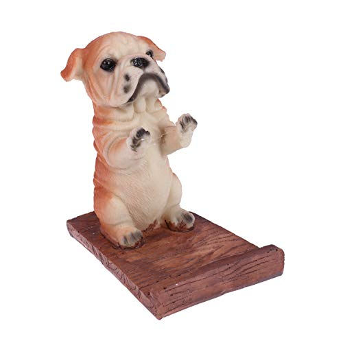 Desktop Bulldogs - Phone Stand,Universal Mobile Phone Stand Desktop Holder Cradle,Bulldog Cell Phone Stand Mini Puppy Dog Bracket