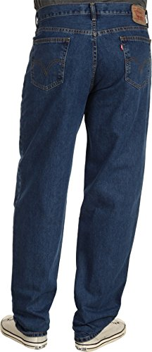 Levi's Men's 560 Comfort Fit Denim Jeans, Dark Stonewash, 42