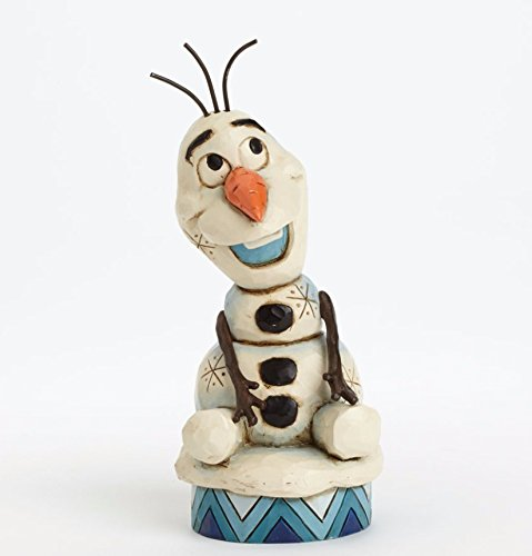 Jim Shore Frog - Jim Shore Disney Traditions Olaf from Frozen Figurine, 5.1