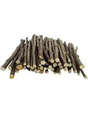 800g Apple Branch Tree Sticks, Natural Organic Molar Pet Wood Snacks, Small Animal Chew Toys for Guinea Pigs Chinchilla Squirrel Bunny Rats