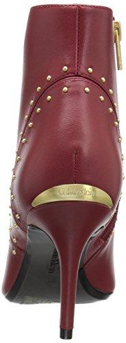 Calvin Grazia Women's Klein Garnet Ankle Bootie PqPvzU
