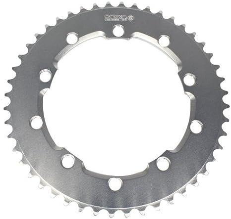 42T BCD:110 Chainring Chain Ring BMX Track Fixie Road Single Speed Bike black