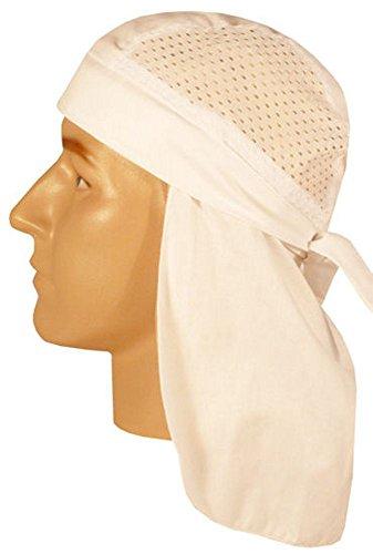 Desert Skull Cap Biker Style Headwraps Doo - White Air Flow Style Skull Cap