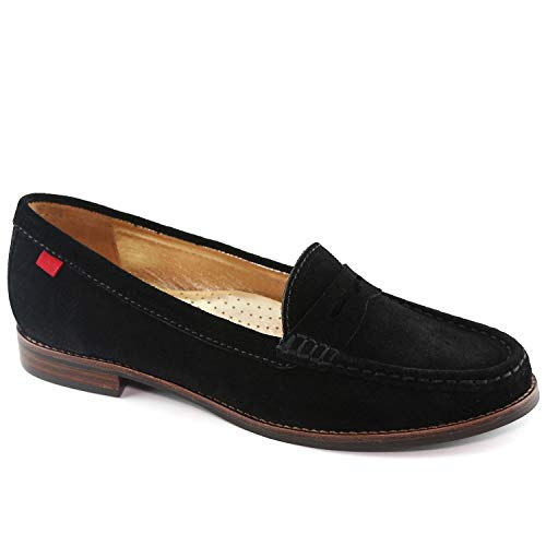 Black Suede Women's New East York Village Loafer Joseph Marc HAqw80H