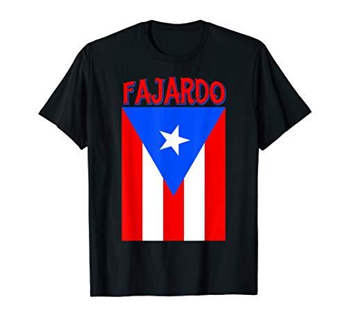 Puerto Rican Fajardo Puerto Rico Flag Shirt