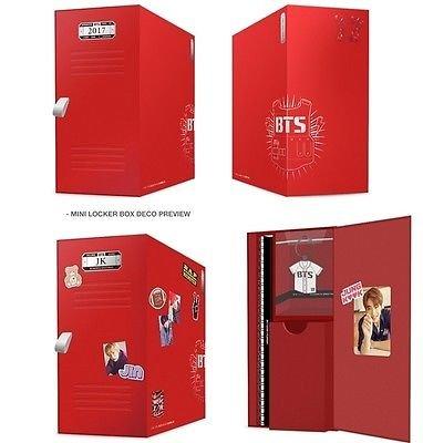 BTS 2017 SEASON'S GREETING (1 DVD + 2 Calendars + Planner + 2p Card + Sticker + Key Ring + FREE GIFT)