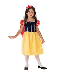 Rubies Costume Co. Storytime Wishes Snow White Costume, Small (size 4-6)