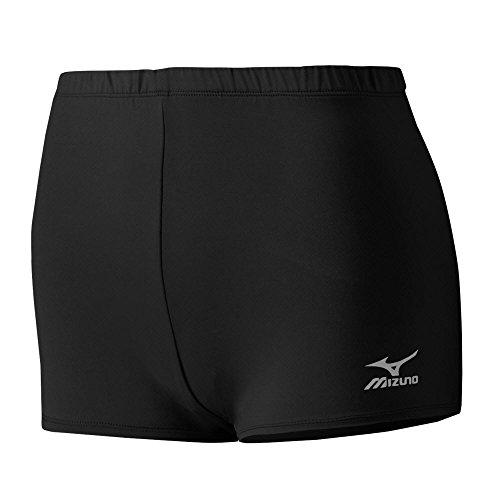 Mizuno Core Low Rider Shorts, Black, X-Large (Rise Rider Low Shorts)