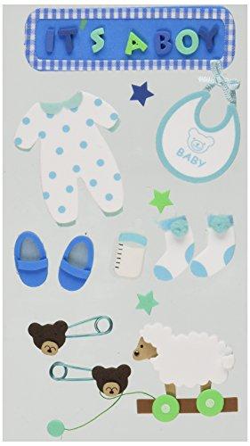 (Jolees Layered Foam Stickers, Baby)
