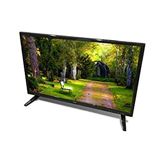 "Free Signal TV Transit 28"" 12 Volt DC Powered LED Flat Screen HDTV for RV Camper and Mobile Use"