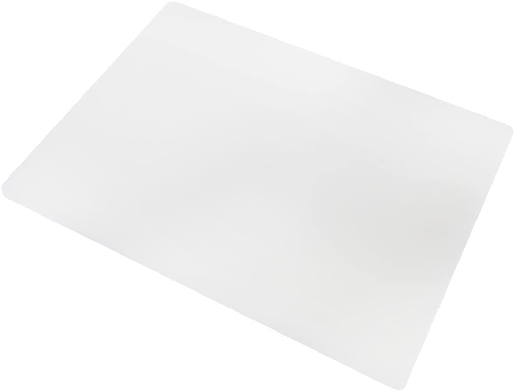 Professional Plastic Cutting Board, HDPE Poly for Restaurants, Dishwasher Safe and BPA Free, 20 x 15 x 0.5 Inches, White
