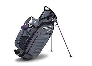 Callaway Golf Hyper Lite 5 Stand Bag Stand / Carry Golf Bag 2017 Hyper-Lite 5 Titanium/Black/Purple