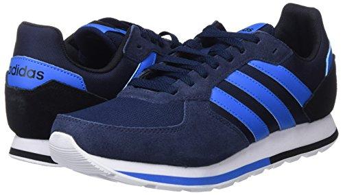 Azubri Negbás 8k maruni Hommes Baskets Bleu 000 Adidas Pour vYSw0