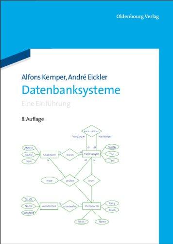 Datenbanksysteme: Eine Einführung Gebundenes Buch – 20. April 2011 Alfons Kemper André Eickler 3486598341 Informatik