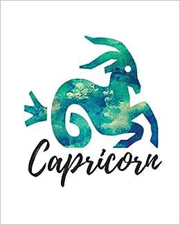 Capricorn: Cornell Notes Journal Green: My Astrology