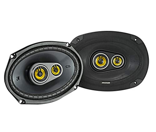 3 X Stereo Audio - Kicker 46CSC6934 Car Audio 6x9 3-Way Full Range Stereo Speakers Pair CSC693