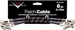 Fender Custom Shop Performance Series Cable (Patch Cable) for electric guitar, bass guitar, electric mandolin, pro audio