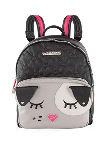 Betsey Johnson Cat Backpack Black Multi One Size