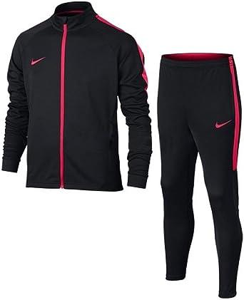 Nike Dri-FIT Chándal, Hombre, Nero Siren Red, L: Amazon.es ...