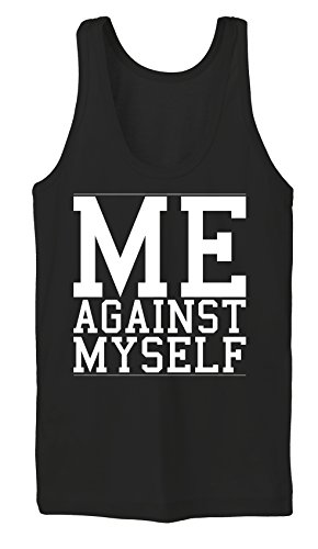 Me Against Myself Tanktop Girls Black Certified Freak