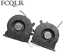 FCQLR New CPU GPU Cooling Fan Compatible for Lenovo Logine Y720 Rescuer Y720-15 Y720-15IKB Cooler EG75120S1-C010-S9A EG75120S1-C020-S9A