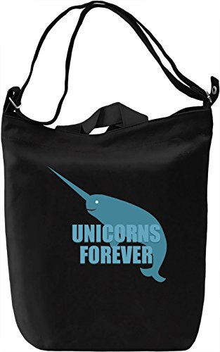 Unicorns forever Borsa Giornaliera Canvas Canvas Day Bag| 100% Premium Cotton Canvas| DTG Printing|