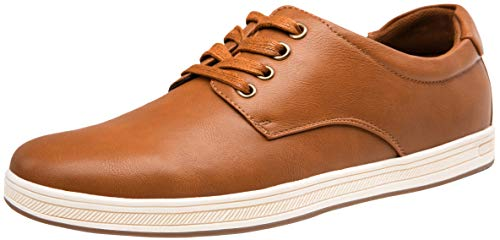 VOSTEY Men's Casual Shoes Fashion Sneakers Dress Sneakers for Men Casual Oxford Shoes