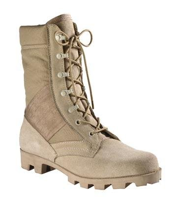 Desert Tan G.I Style Speedlace Jungle Boot, 6 - Gi Style Jungle