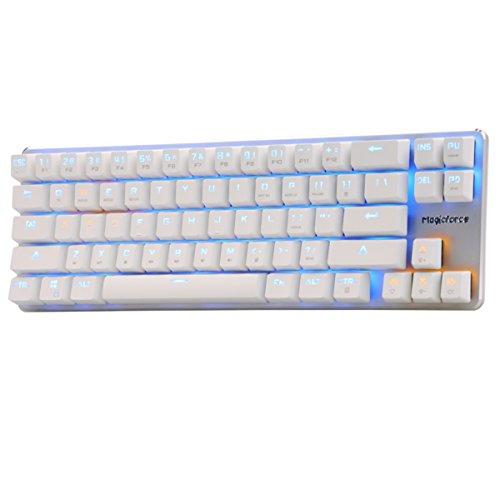 Qisan Gaming Keyboard Mechanical Keyboard Black Switch