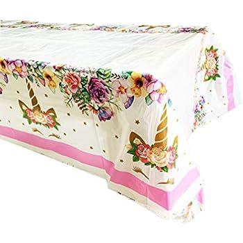 Amazon.com: Laojbaba - Mantel desechable de plástico de ...